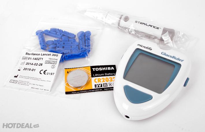 Máy Đo Đường Huyết Microlife MGR 100