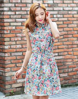 Đầm Hoa Cổ Sơ Mi tại Hồ Chí Minh